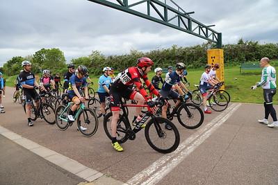Miche West Thames series  Cat 4 race