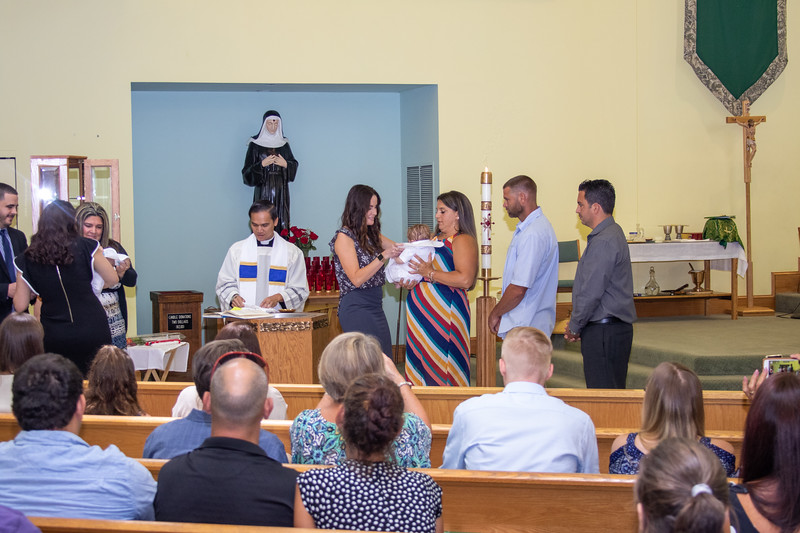 Ronny Baptism