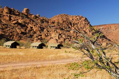 Paysages de Namibie