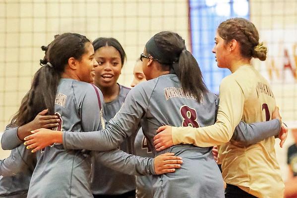 Varsity & Junior Varsity Volleyball vs. Heritage Christian