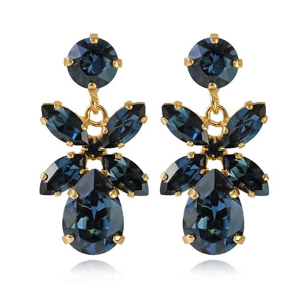 Mini Dione Earrings / Montana Gold