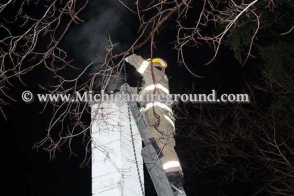 4/9/20 - Mason chimney fire, 803 E. Ash St