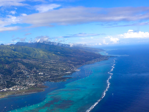 Papeete, the capital of French Polynesia - May, 2021