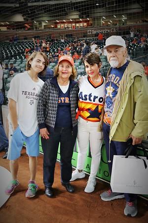 First Pitch  - Astros - 9.20.2019 - Joe Niekro Foundation Day