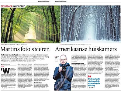 Interview door Tubantia (Dutch)