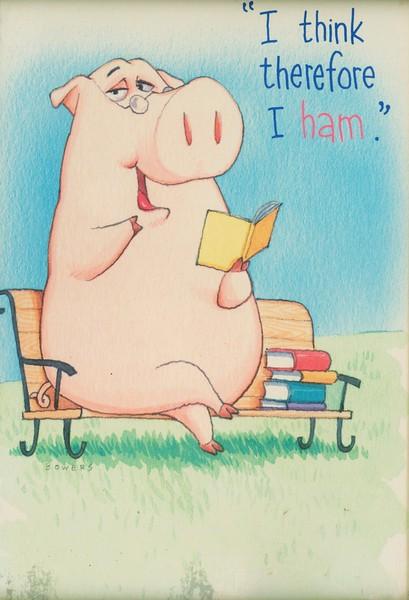 I Think Therefore I Ham