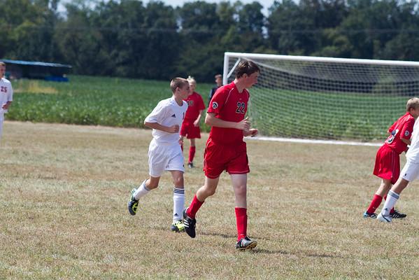 CHS JV Soccer 2011