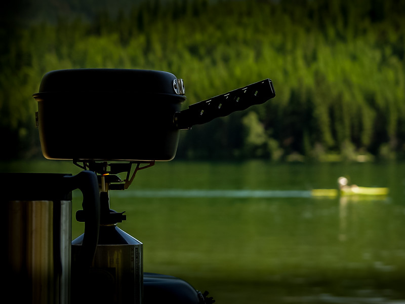 Product Image shot on location for GSI Outdoors