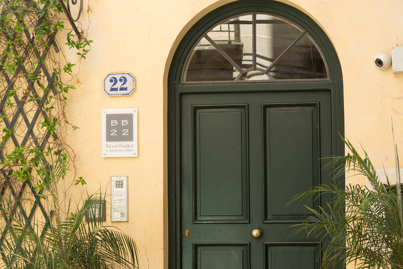 BB22, our bed and breakfast in Palermo