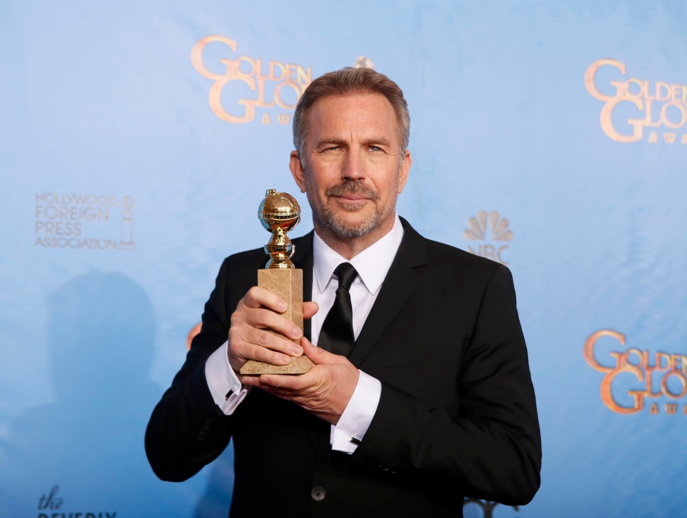 Description of . Best Actor in a Miniseries or Motion Picture Made for Television: Kevin Costner, Hatfields & McCoys