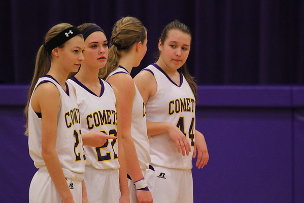 Basketball Girls JV vs. Hackett - 1/23/15 - KCHS