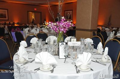 Mu Zeta 25th Anniversary/RB Activation Banquet 05.01.2010