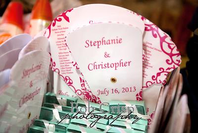 Stephanie-Chris wedding