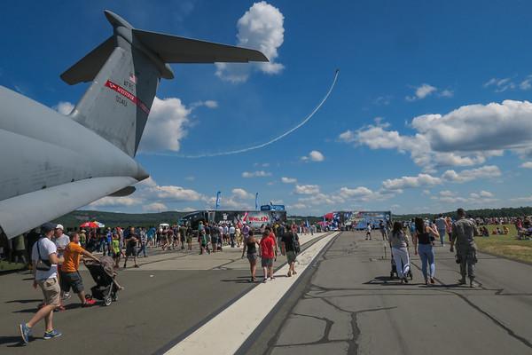 C-5 Tail and Aerobatics