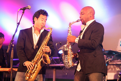 2012 Dauphin County Wine and Jazz Festival - The Sax Pack 9-9-12