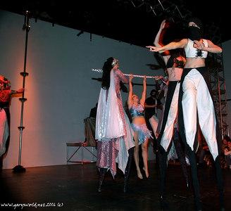 Stilt Circus at Abundant  Sugar 2006