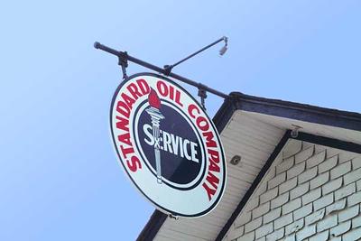 Standard Oil Gasoline Station in Odell