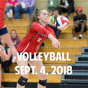 Prairie Volleyball 9-4-2018