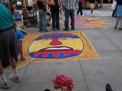 Pasadena, CA 2004 Chalk Festival