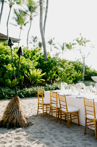 B + D // Four Seasons Hualalai Wedding