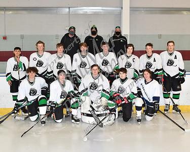 Twin Valley/Wyo vs Berks Catholic Varisity Ice Hockey 20 - 21