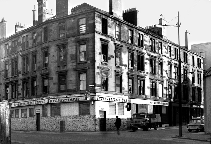 Corner of Orr St and Broad St. 