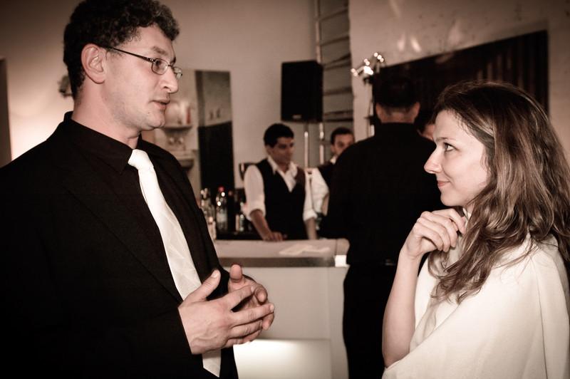 Sasha Nepomniashchy and Masha Lavnikovich