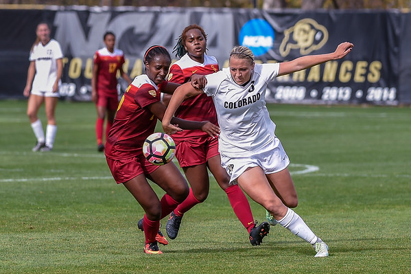 NCAA - Women's Soccer - CU vs USC - 20161030