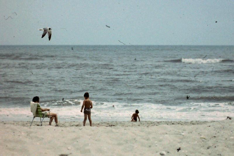 Jo, Jeff & Randy enjoy Outer Banks, NC beach