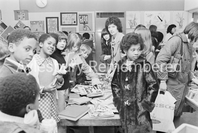 Turnfurlong School jumble sale, Mar 1975