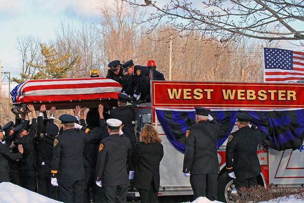 December 30, 2012 - Webster, NY - Department Funeral
