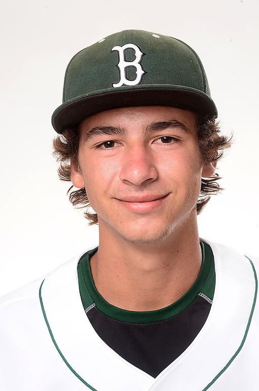 . Merritt Parker of Bonita High School baseball Tuesday, June 4, 2013. (SGVN/Staff Photo by Sarah Reingewirtz)