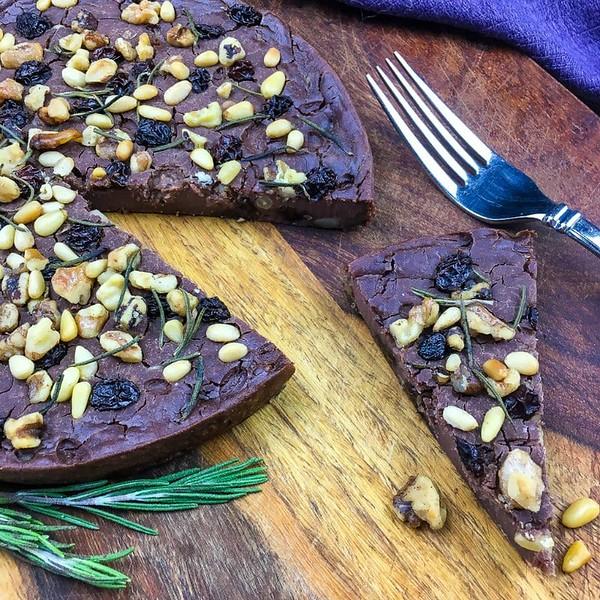 Italian Chestnut Flour Cake - Vegan Italian Recipes