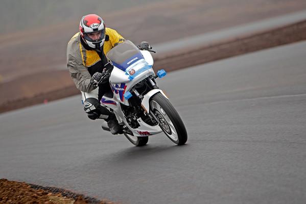 Honda - White Blue