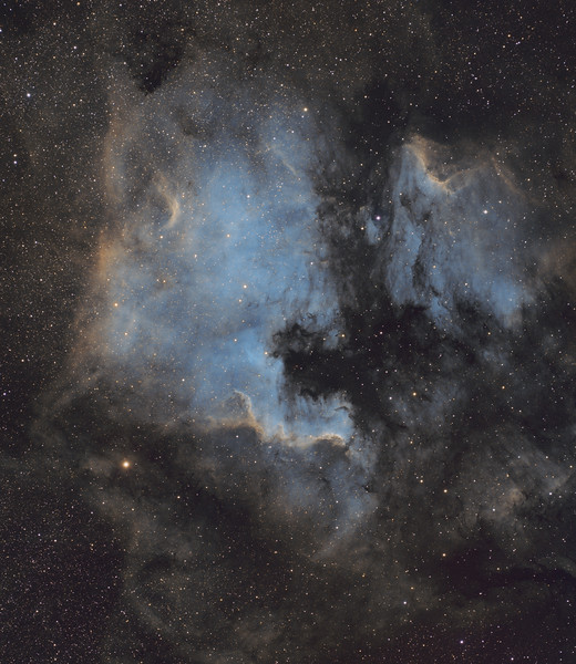 North America and Pelican Nebula