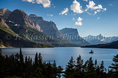 Glacier National Park - St. Mary Lake