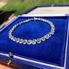 9.50ctw Round Brilliant Diamond Tennis Bracelet 15
