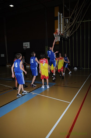 Cadets 93 Morges-Blonay 21.11.09