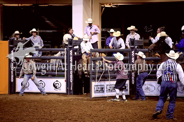 RANCH BRONC RIDING
