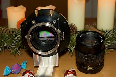Mamiya Sekor 150mm and SX36 CCD