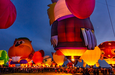 Albuquerque Balloon Fiesta - Fri PM - Oct 2018