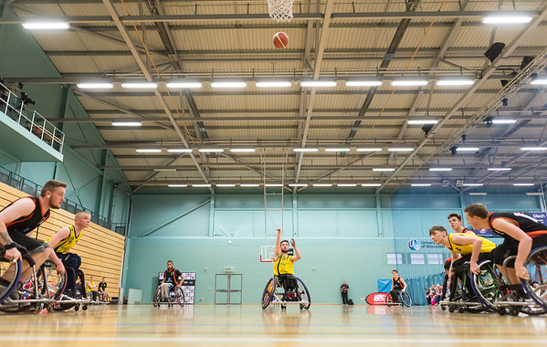 Junior Wheelchair Basketball Finals 2017, Worcester