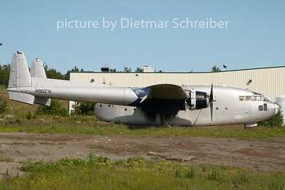 N9027K Fairchild C119