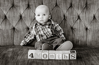 Avery 4 months