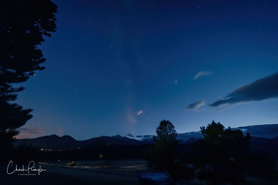 Milky Way in RMNP with Ed
