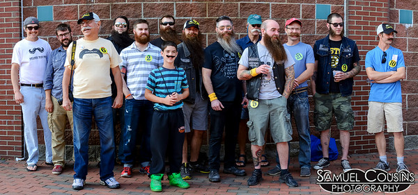 Stache Pag with the Sea Dogs 7/31/14