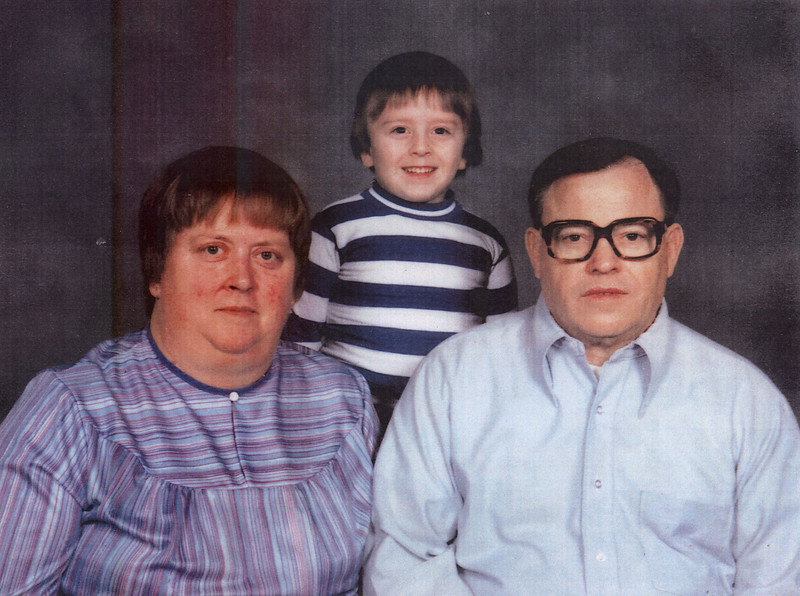 Helen and Limon with Son, Limon Phipps