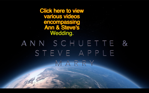 Ann Schuette & Steve Apple, Marry, Aug, 5, 1989