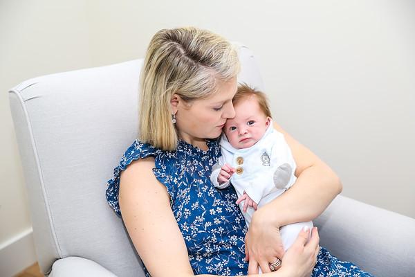 Victoria & Scott Newborn Portrait Session