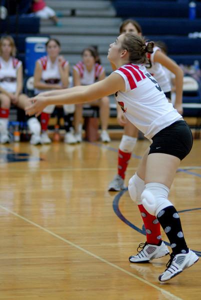 Linganore High JV Volleyball at Thomas Johnson High